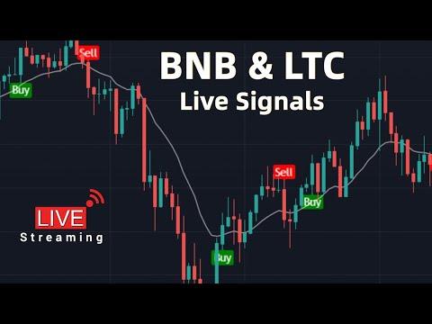 Live Binance Coin \u0026 Litecoin Signals | BNB | LTC | Free Market Cipher - Live Streaming