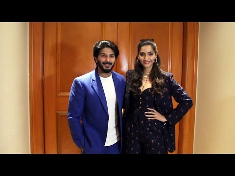 Sonam kapoor With Dulquer Salmaan Promoting Their Film The Zoya Factor Mp3