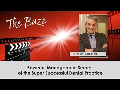 Dr Bob Pick Business Management - Dental Speakers Bureau