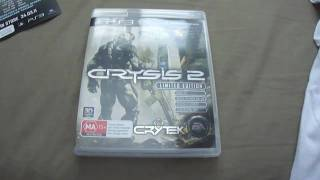 Crysis 2 Limited Edition Unboxing & My Thoughts