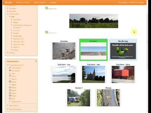 Updates to the Grid Format for Moodle