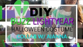 DIY Buzz Light Year Halloween costume│2015 COLLAB