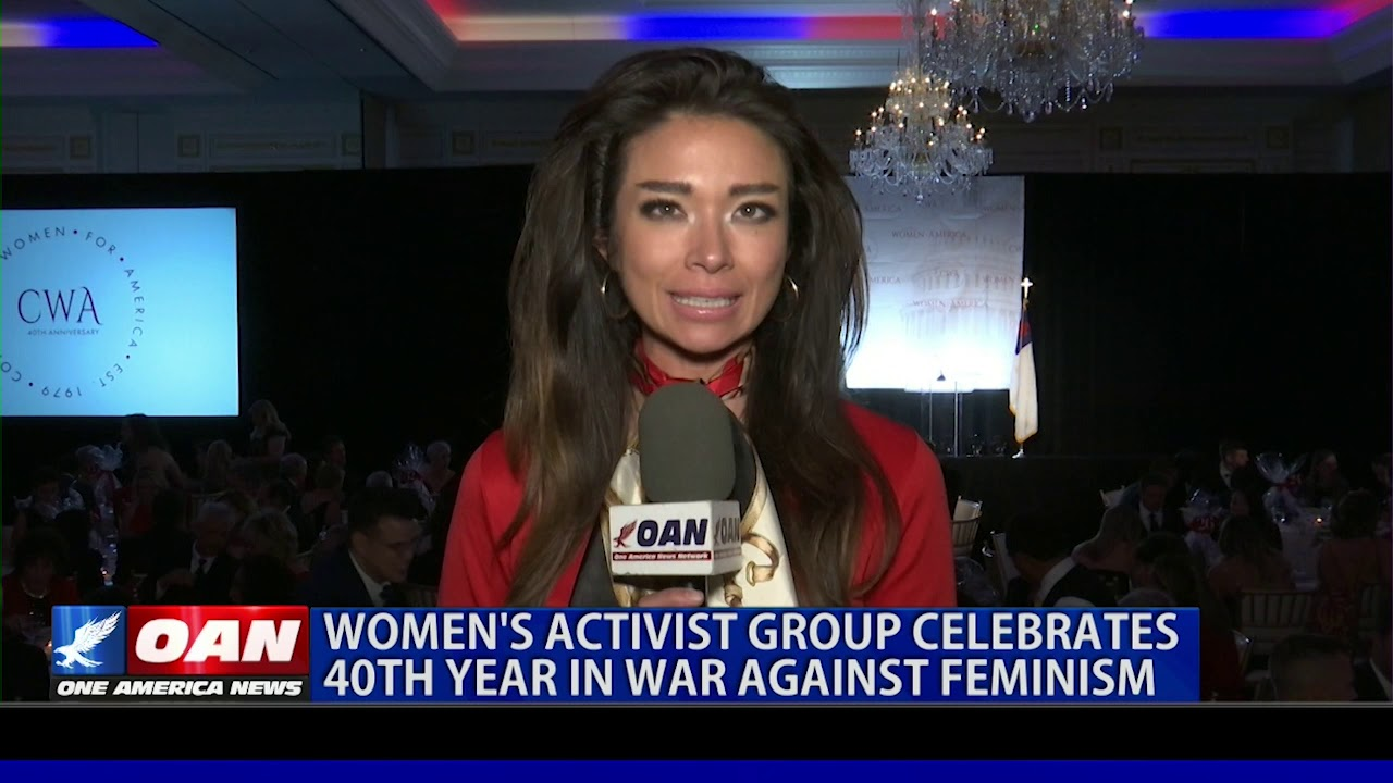 OAN Women's activist group celebrates 40th year in 'war against feminism'