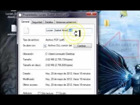 windows no puede a abrir este archivo / solucionado