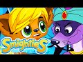 Smighties - Halloween Scary Genie Costume Prank | Funny Cartoon Video | Cartoons for Kids