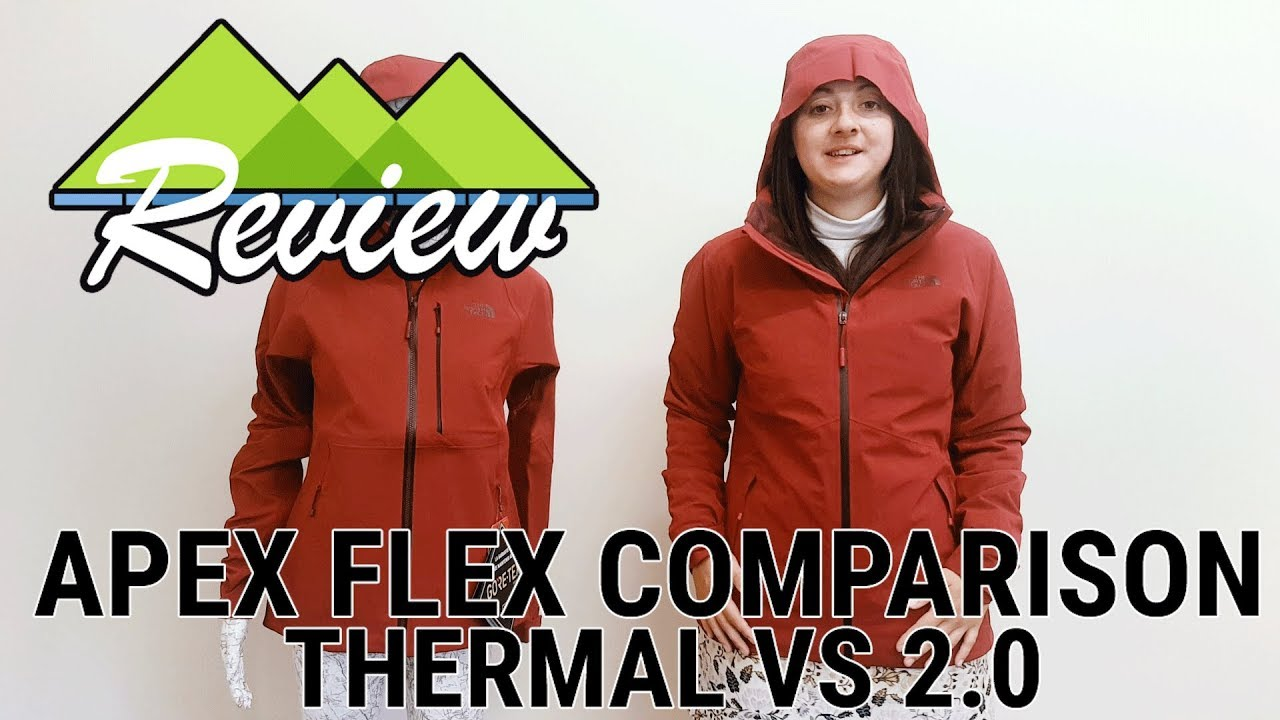 e8af7d41ec5 The North Face Apex Flex 2.0 and Thermal Jacket Comparison - YouTube