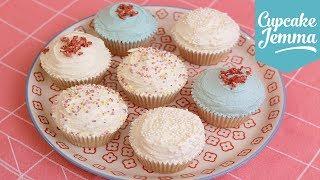 Eggless Vegan Cupcake Recipe | Cupcake Jemma