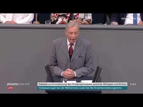 Bundestagsdebatte zum Friedensprozess zwischen Äthiopien und Eritrea am 12.10.18