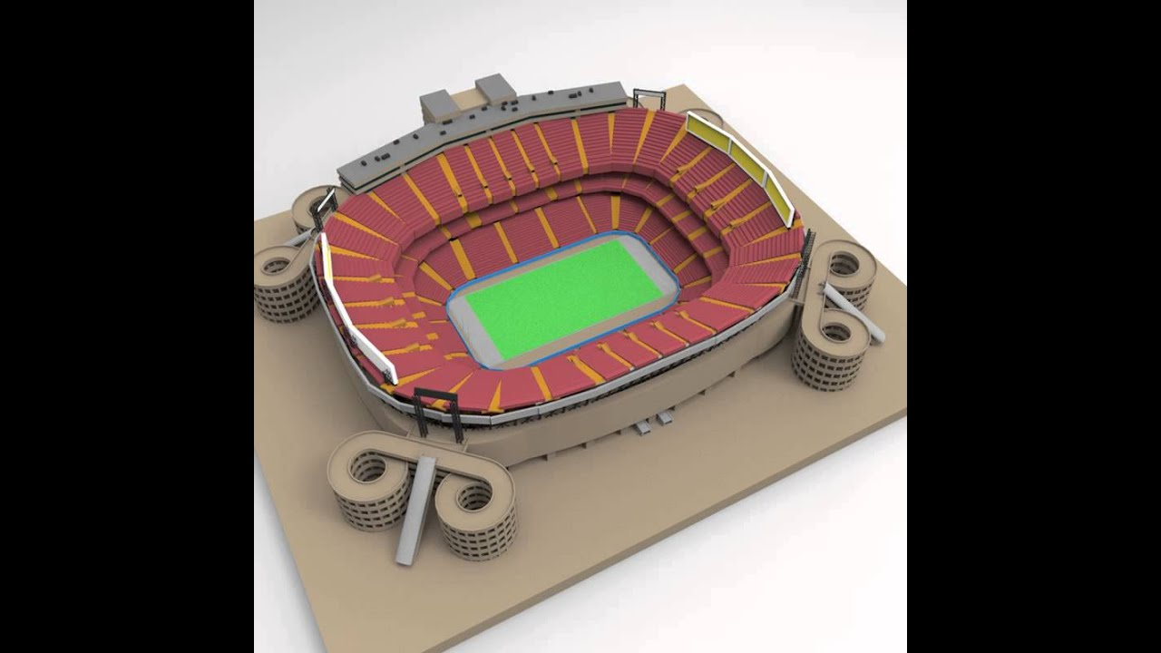 Giants Stadium 3D model from CGTrader.com - YouTube