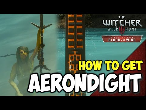 Witcher 3: Blood and Wine AERONDIGHT Sword Guide - Best Silver Sword | Five Virtues Achievement