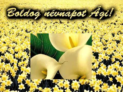 boldog névnapot ági Boldog névnapot Ági!   YouTube boldog névnapot ági