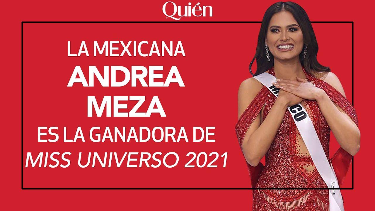 Andrea Meza de Mxico fue coronada como la nueva Miss Universe ...