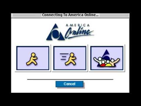 AOL Dial Up Internet Connection Sound + You