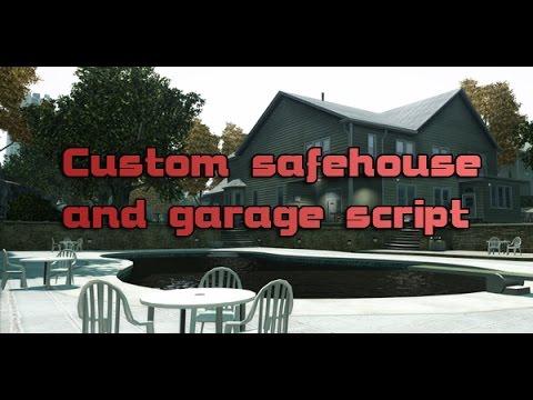 Custom Safehouse and Garage Script v1.1