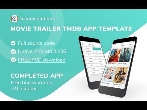 Buy Movie Trailer iOS App source code - Sell My App