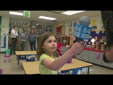 WCCO Surprises Kid Reporters!