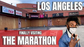 FINALLY VISITING NIPSEY HUSSLE THE MARATHON STORE    AND HOOD FILMING LOCATIONS