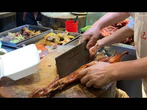 🥩🥩4k-hongkong-street-food|the-roasted-duck-&-roasted-pork-in-kwun-tong