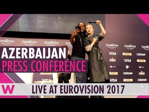 "Azerbaijan Press Conference 2 — Dihaj ""Skeletons"" Eurovision 2017 