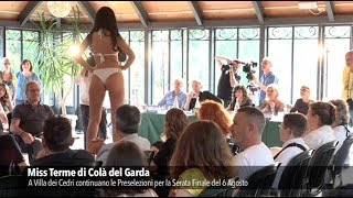 Preselezioni Miss Terme Colà del Garda