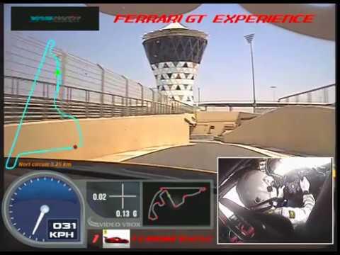 Ferrari 458 Challenge Yas Marina Drive Abu Dhabi