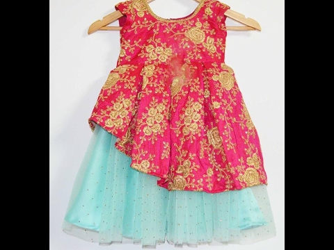 eace94be5fea designer baby dress - YouTube