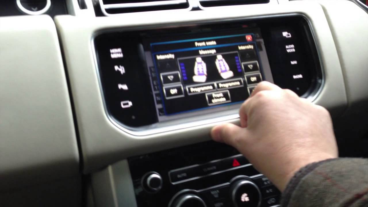 Range Rover Sport >> the all new range rover Massaging seats - YouTube