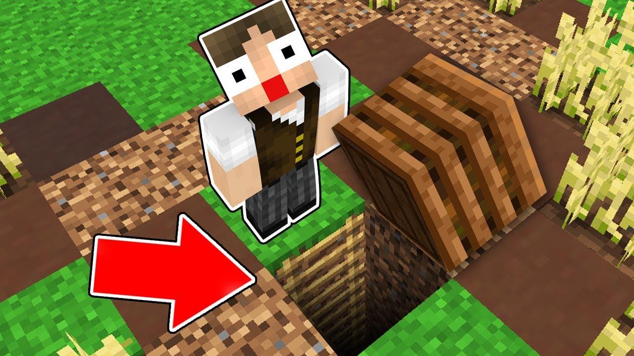 Minecraft: 10 PASSAGENS SECRETAS QUE VOCÊ ABSOLUTAMENTE NUNCA VAI ACHAR NO MINECRAFT!