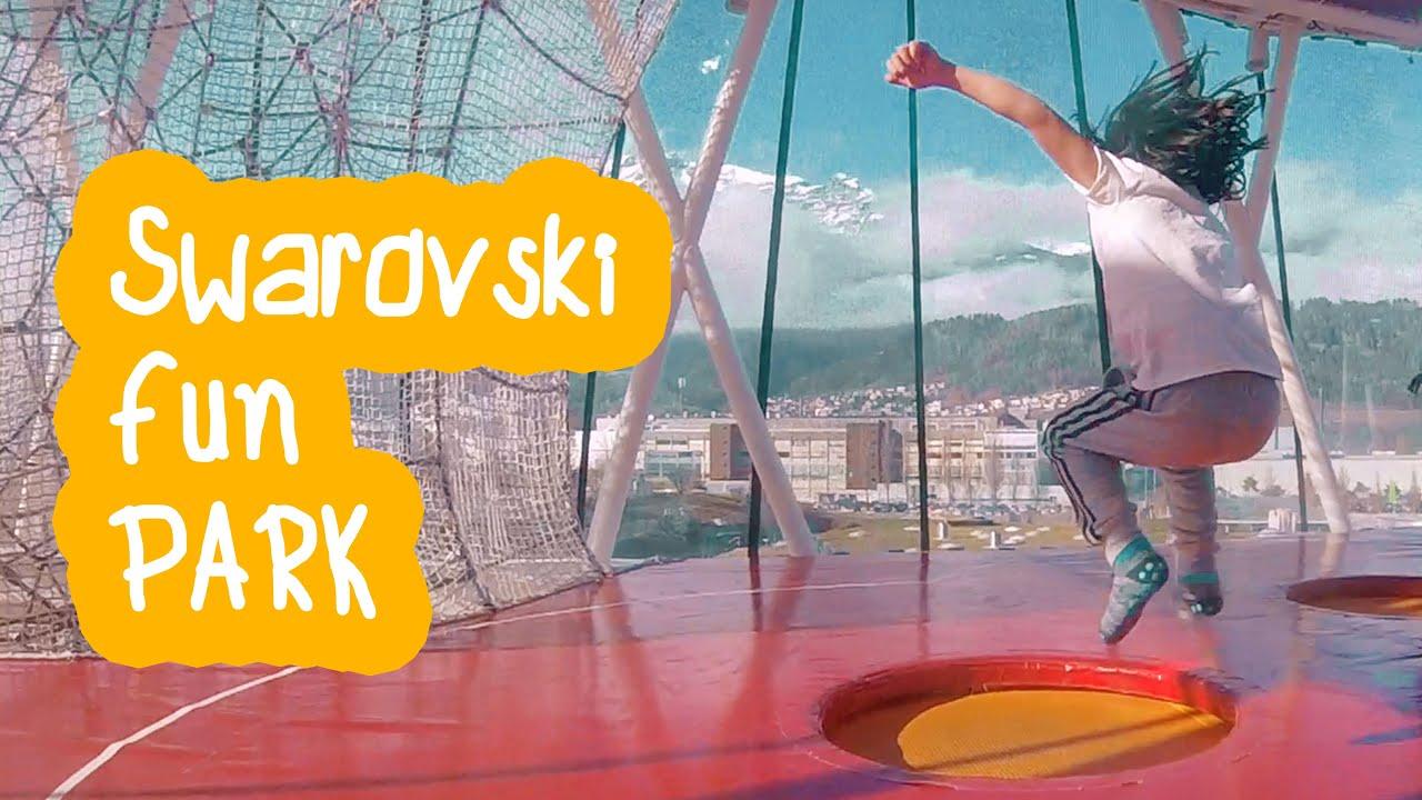 ? Am Vizitat Swarovski Crystal Worlds   Playground Park   #Innsbruck (Austria) ⭐