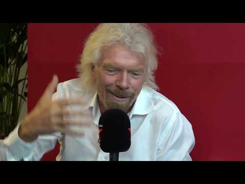 Sir Richard Branson's Alien Invasion & Book Space Flight With Bitcoin 👍😃