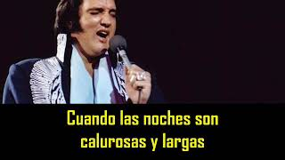 Gambar cover ELVIS PRESLEY - Susan when she tried ( con subtitulos en español ) BEST SOUND