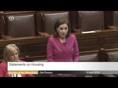 Josepha Madigan - Constituency Matters of Dublin Rathdown