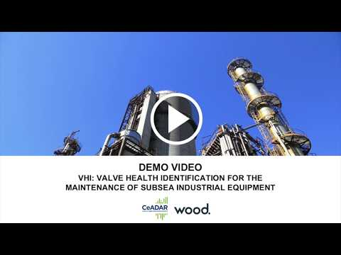 VHI: Valve Health Identification for the Maintenance of Subsea Industrial Equipment