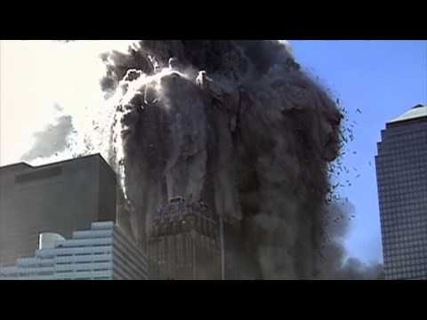 High Definition Clip of WTC1 Turning to Dust in Midair on 9/11 (Slow Motion)
