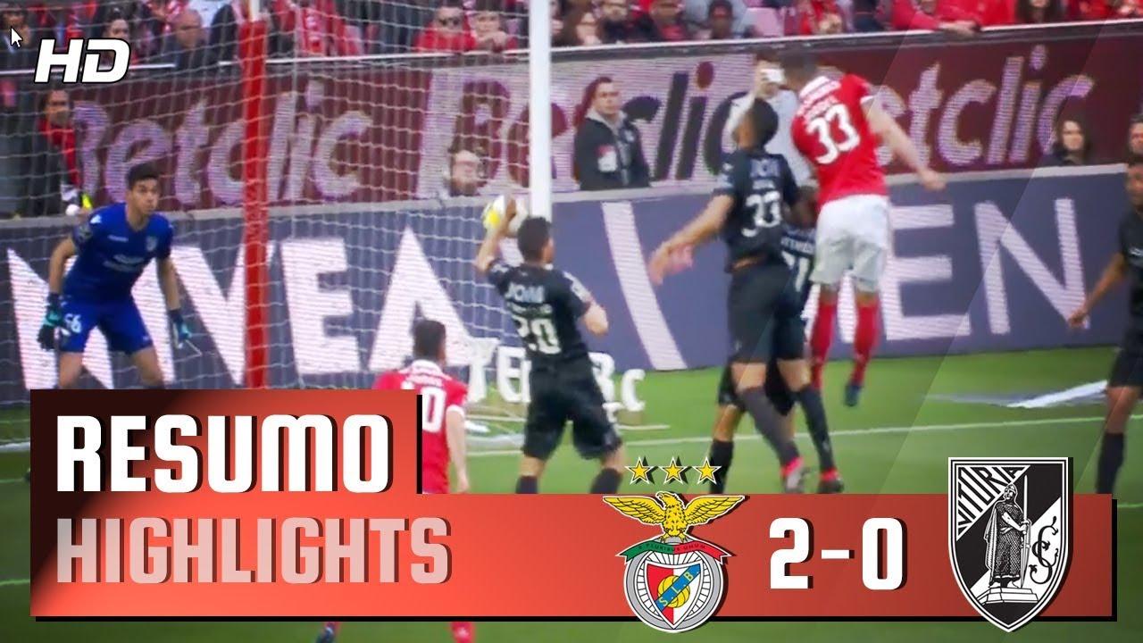 Resumo Benfica: Resumo: Benfica 2-0 Guimarães (Liga 28ª J)