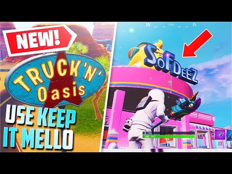 *NEW* Use Keep It Mello at a truckers oasis, ice cream parlor, and a frozen lake