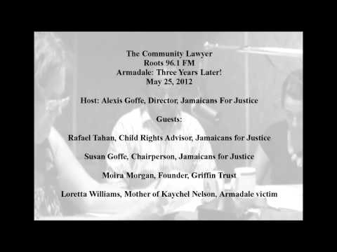 JFJ - Radio Show: The Community Lawyer - Armadale: 3 Years L