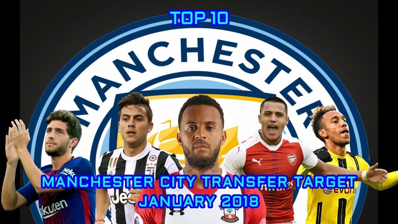 Manchester City Transfer Tar In Januari 2018