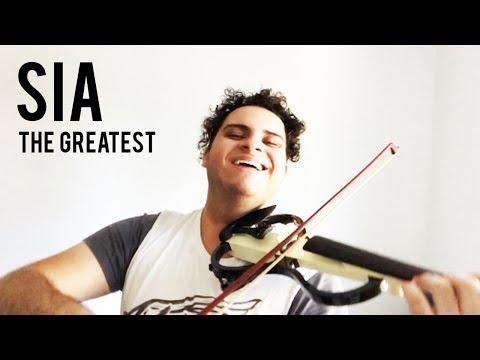 The Greatest - Sia (Violin Cover) | Brandon Woods