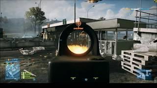 Battlefield 3 Gameplay (Chopper TV, Ground and Pound, Tank)