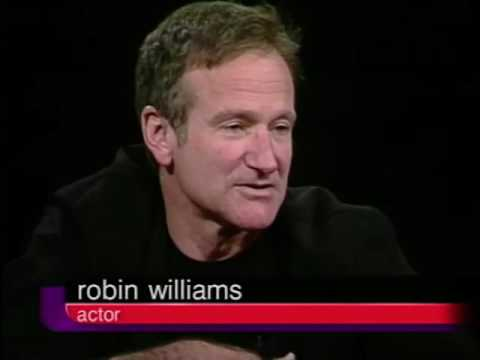 Complete High Definition Robin Williams Job İnterview On Charlie Rose 2000 & 2002