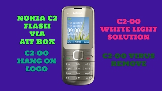 NOKIA C2 FLASH ||  C2-00 HANG ON LOGO || C2-00 VIRUS REMOVE ||  C2-00 ATF || BY TEAM SMS