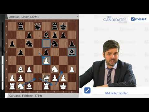 Caruana-Aronian, Candidates 2018: Svidler's Game Of The Day