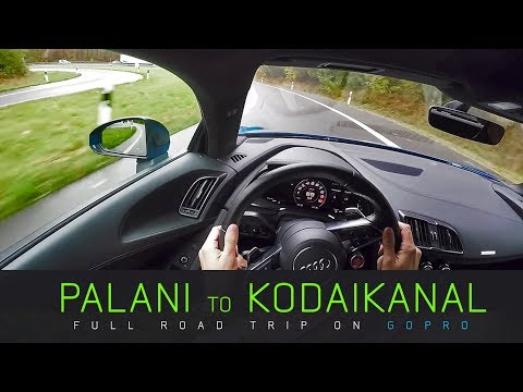 Palani to Kodaikanal Full Road Trip on GoPro | Incredible India | Fuze HD