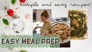 🥘 COOK WITH ME | EASY MEAL PREP | DUMP AND GO MEALS | CROCKPOT MEALS | WHATS FOR DINNER 🥘