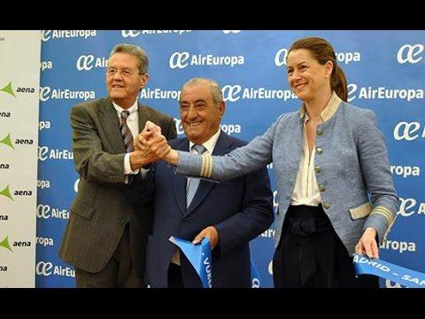 AIR EUROPA: VUELO INAUGURAL MADRID-HONDURAS