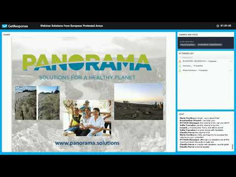 PANORAMA webinar: Solutions from European Protected Areas
