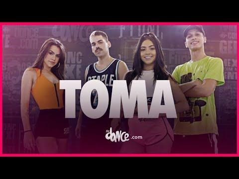 Toma  - Mateus Carrilho, Tainá Costa | FitDance TV (Coreografia Oficial)