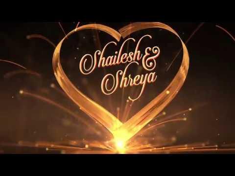 Shailesh Weds Shreya | Best Traditional Hindu Wedding Invitation Video | VR Visual Magics
