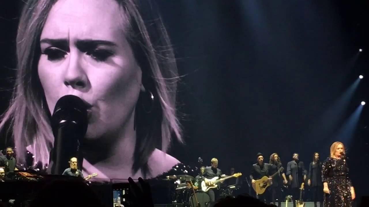 Adele Rumor Has It Live Madison Square Garden